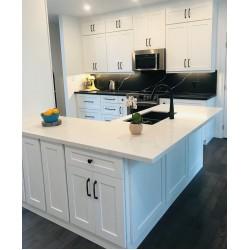 Kitchen Design Project- Black and White Kitchen