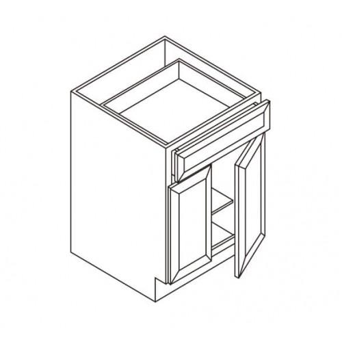 Vanity Sink Base, 1 Dummy Drawer, 2 Doors – 4