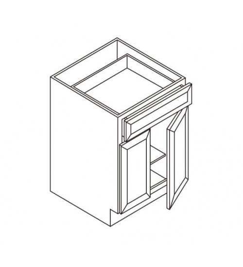 Base 1 Drawer 2 Doors – 3