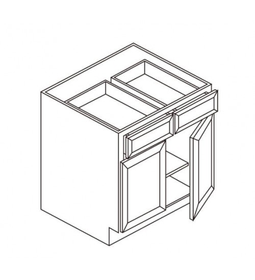Base 2 Drawer 2 Doors – 3