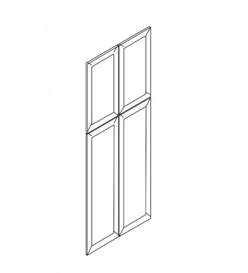 Pantry Dummy Doors – 4 Doors With Pre-drilled Hinges. No Frame – 5
