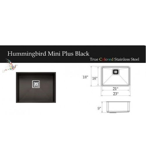 Hummingbird Mini Plus Black