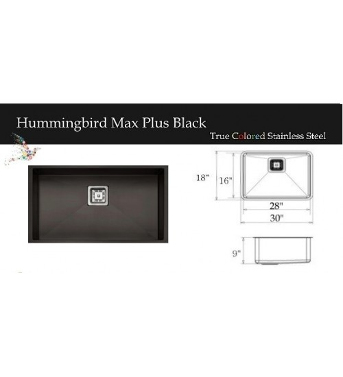 Hummingbird Max Plus Black
