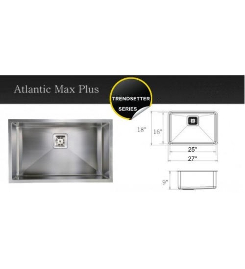 Atlantic Max Plus- kitchen sink