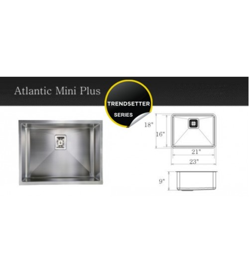 Atlantic Mini Plus- kitchen sink