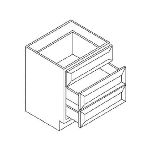 Vanity 3 Drawer Base – 5