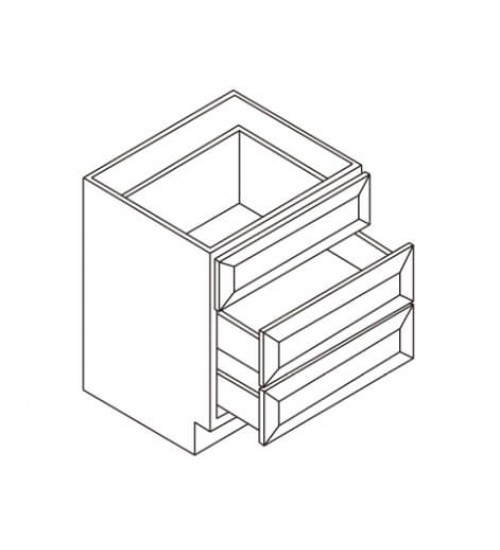 Vanity 3 Drawer Base – 8