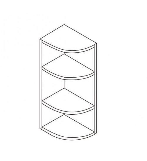 """Wall End Shelf 9"""" - 8"""