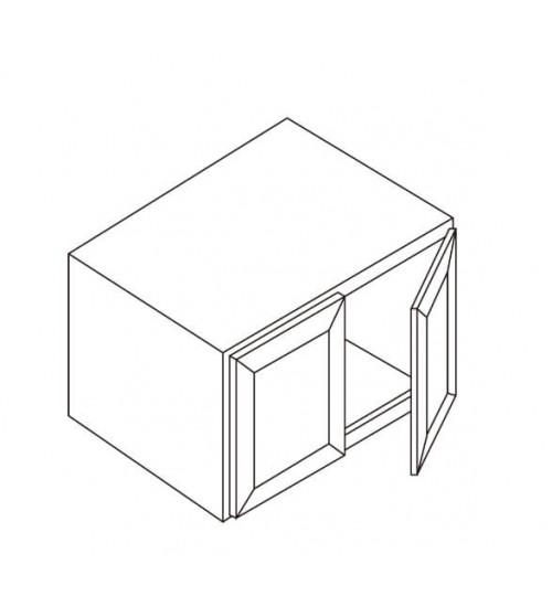 """Refrigerator Wall Cabinet 33""""W x 27""""D – 3"""
