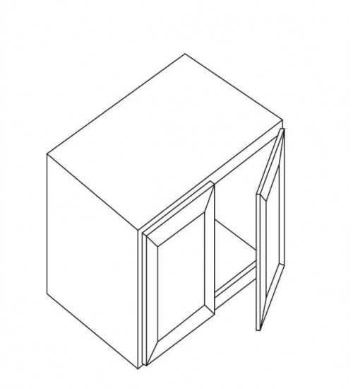 """Refrigerator Wall Cabinet 33""""W x 27""""D – 2"""