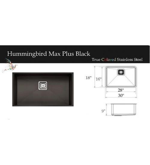 Hummingbird Max Plus Black