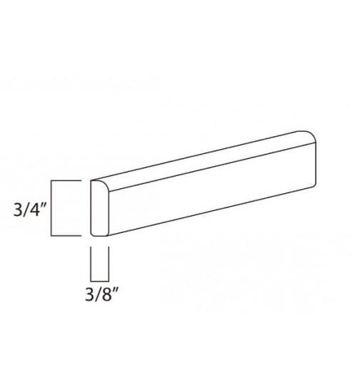 "Scribe Molding 1/4"" Height x 96"" Length – 8"