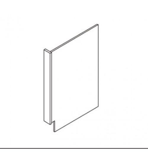"""Dishwasher Return Panel With 3"""" Return Filler – 6"""