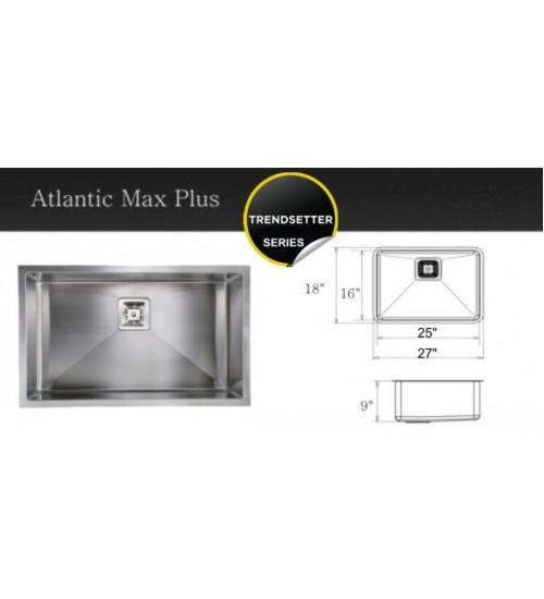 Atlantic Max Plus- kitchen sink