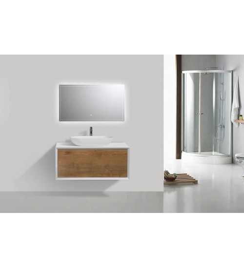 Contempo Vanity with Vessel Sink