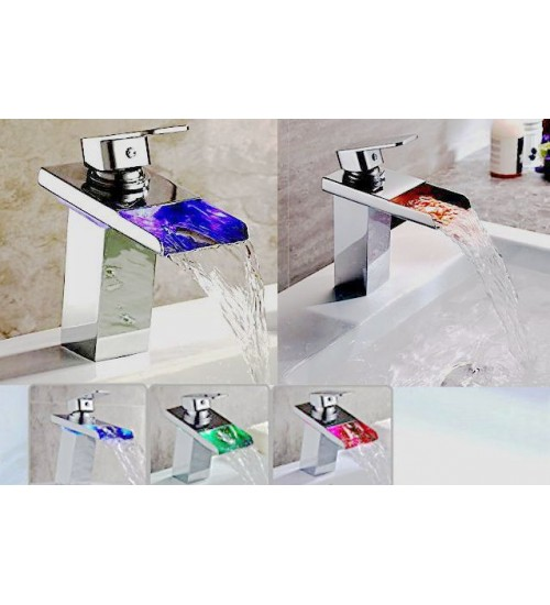 Tempo- Ledlight Bath Faucet- chrome