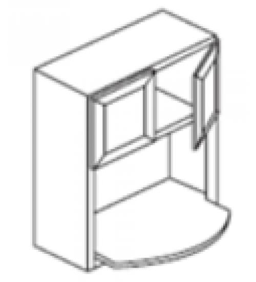 """Wall 2 Door Microwave Below 30""""W x 12""""D – 6"""