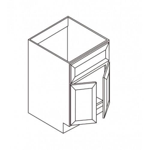 """Vanity Sink Base – Only 2 Doors – 24"""" W – 6"""