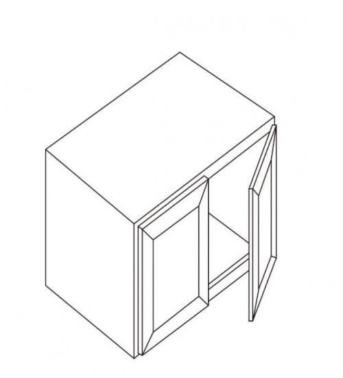 """Refrigerator Wall Cabinet 33""""W x 27""""D – 4"""
